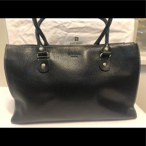 💗 KATE SPADE Vintage Large Leather Tote